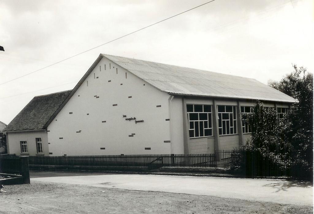 Gemeindehaus um 1962