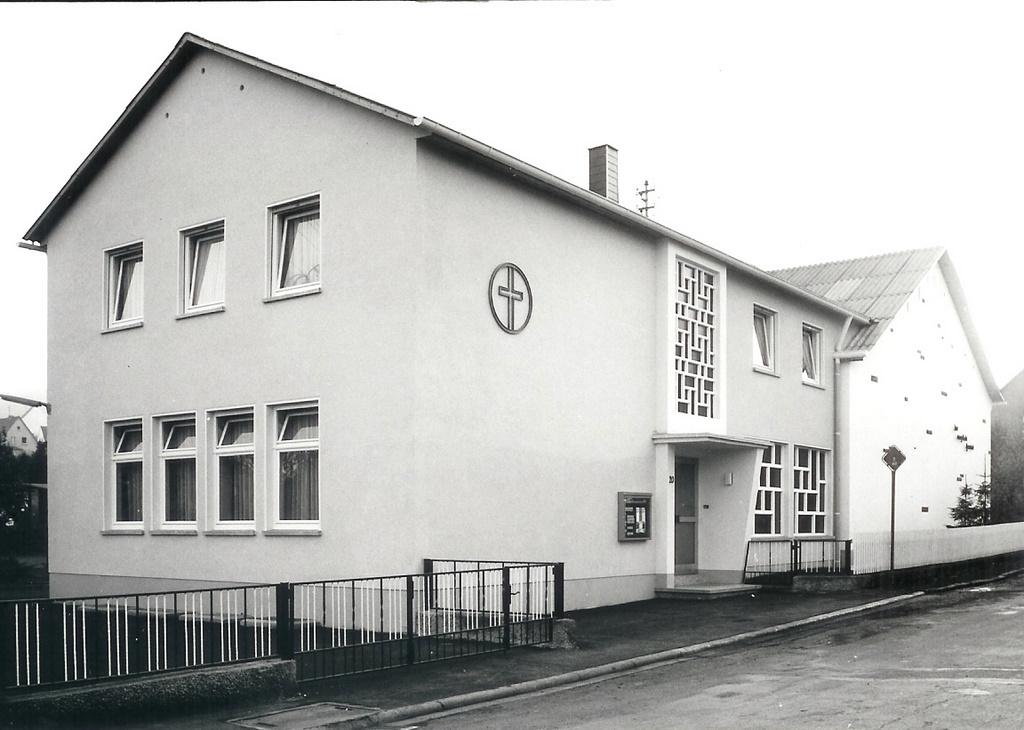 Gemeindehaus um 1970